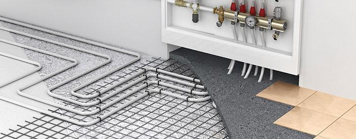 vloerisolatie met vloerverwarming Bergen op Zoom
